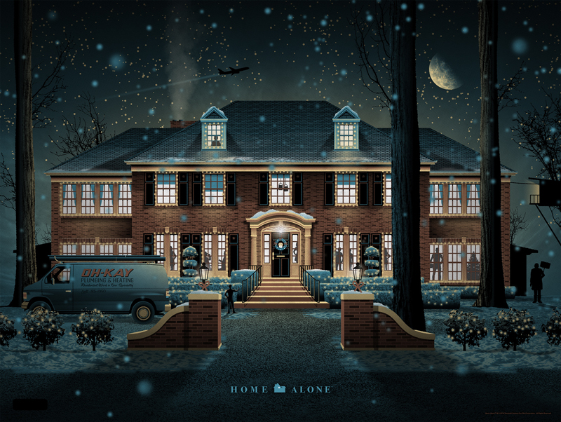 Today Mondo Is Releasing A Print For A Modern Christmas