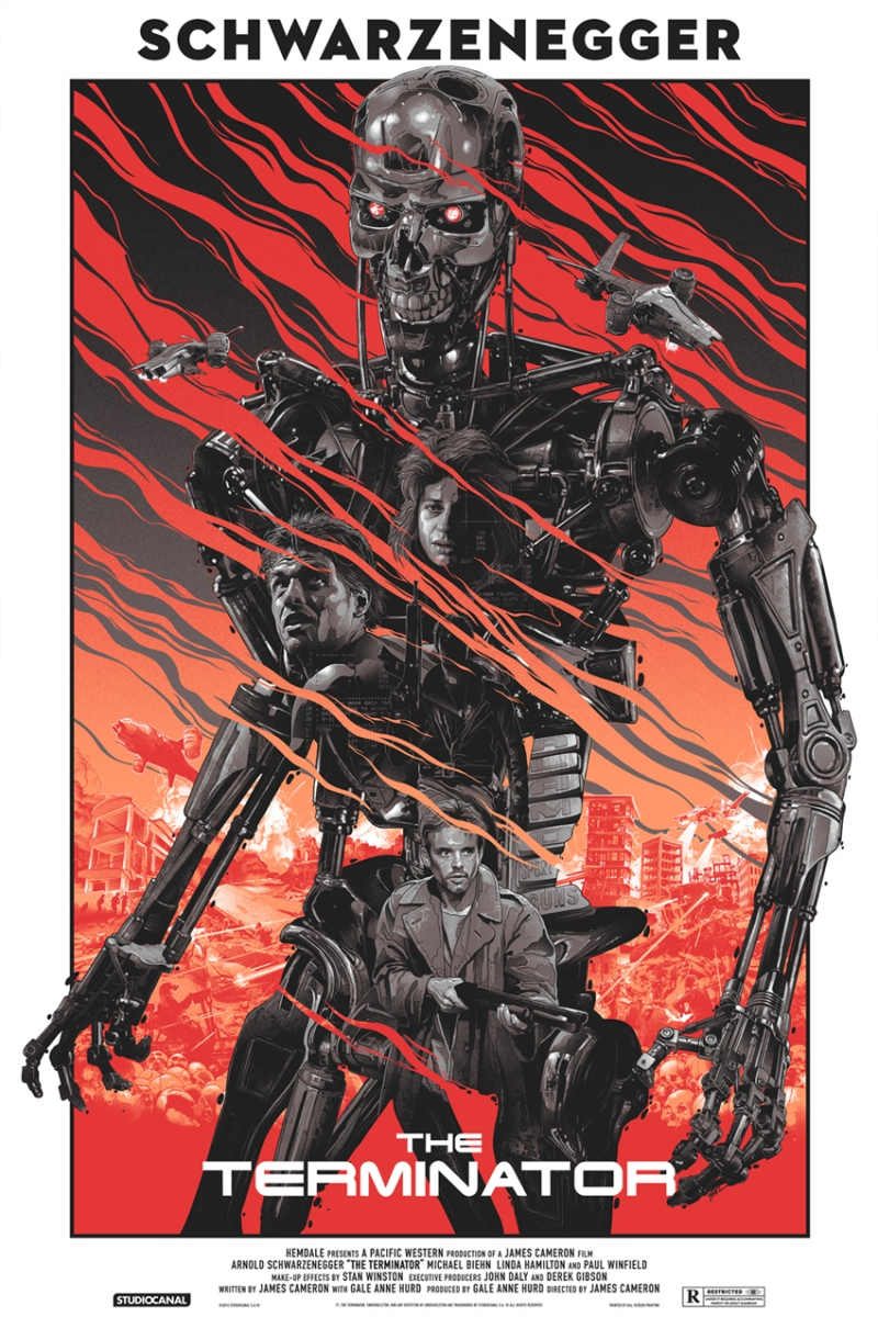 "Grey Matter Art Announces Their Biggest License To Date ""The Terminator"" & ""Terminator2: Judgement Day"" By Gabz"