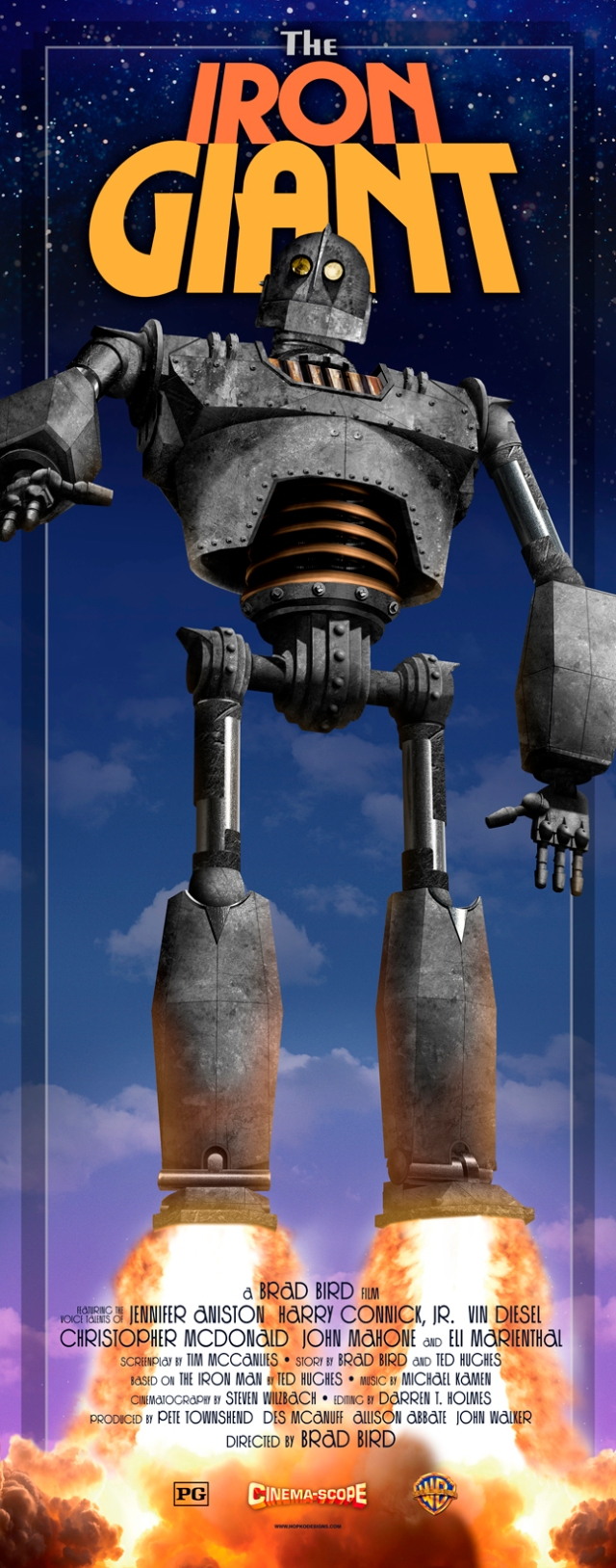 The Iron Giant 14_x37_ hopko designs