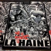 "Famp Art And Godmachine Partner Up On A Fantastic ""La Haine"" Print"