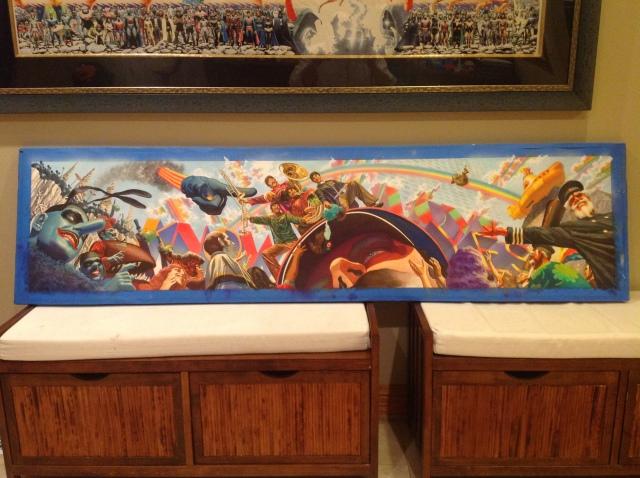 YS Alex Ross original painting