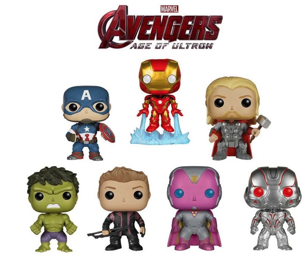 Funko Pop Vinyl Gives Us A Look At Their Upcoming