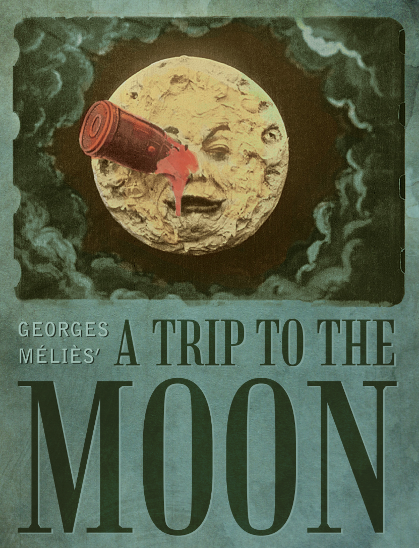 trip to moon The trip to the moon [is] the personal creations of mr george melies, who himself conceived the ideas, painted the accessories and acted on the stage ~ gaston méliès.