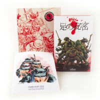 "IDW Limited Reveals A Gorgeous Workprint Edition Of ""TMNT: The Secret History Of The Foot Clan"""
