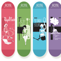 Brandon Johnson's Acme Skateboard Line Is Highly Desirable