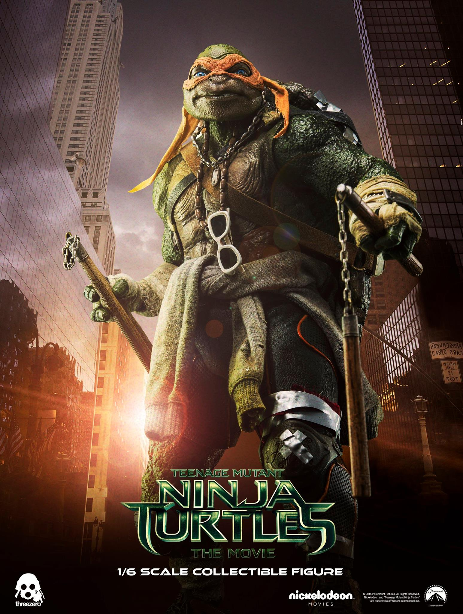 Threezero Gives Tmnt Fans A Look At Their Leonardo And Michelangelo Figures Blurppy