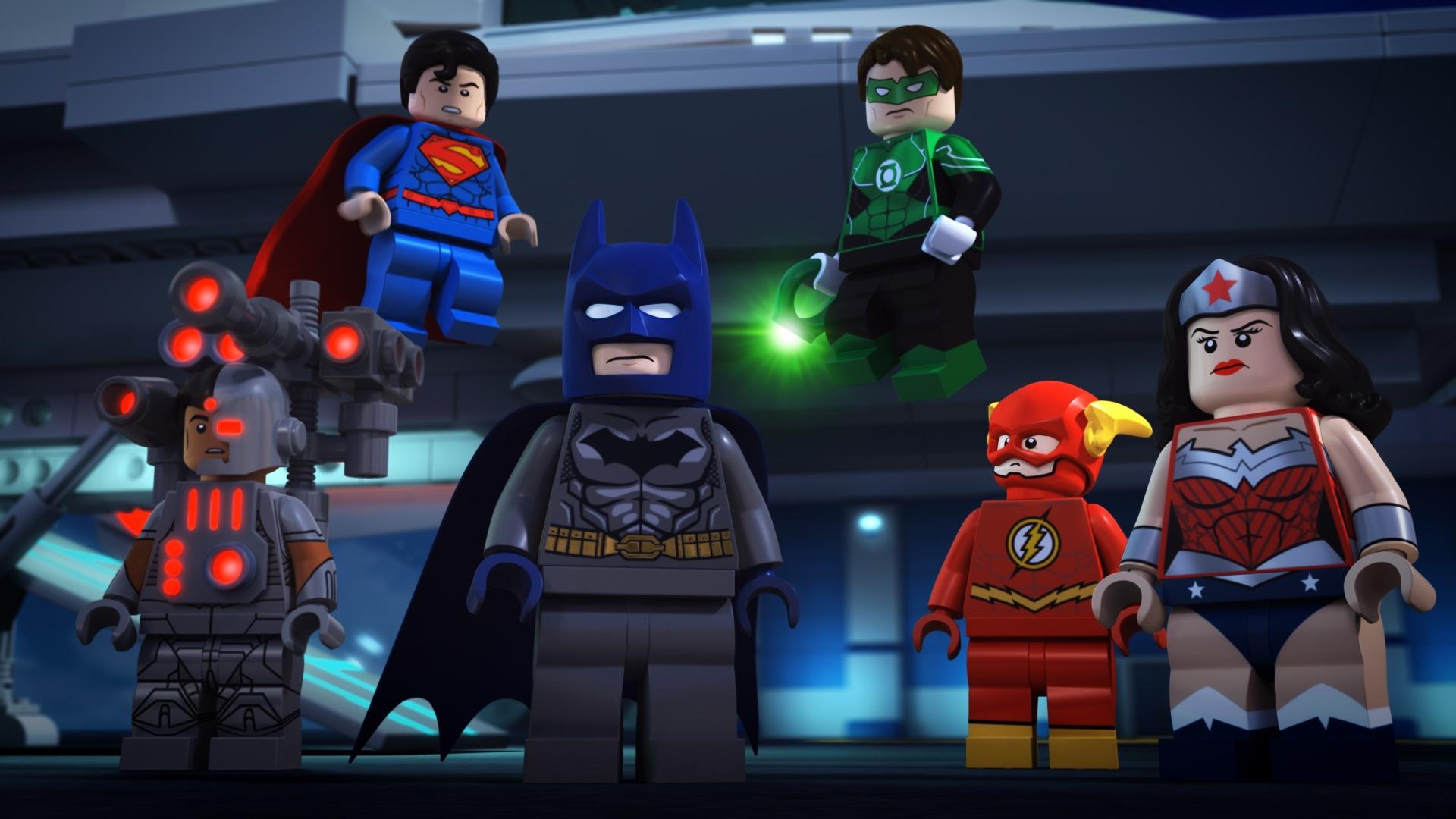 Lego dc comics super heroes justice league attack of - Logo super heros ...