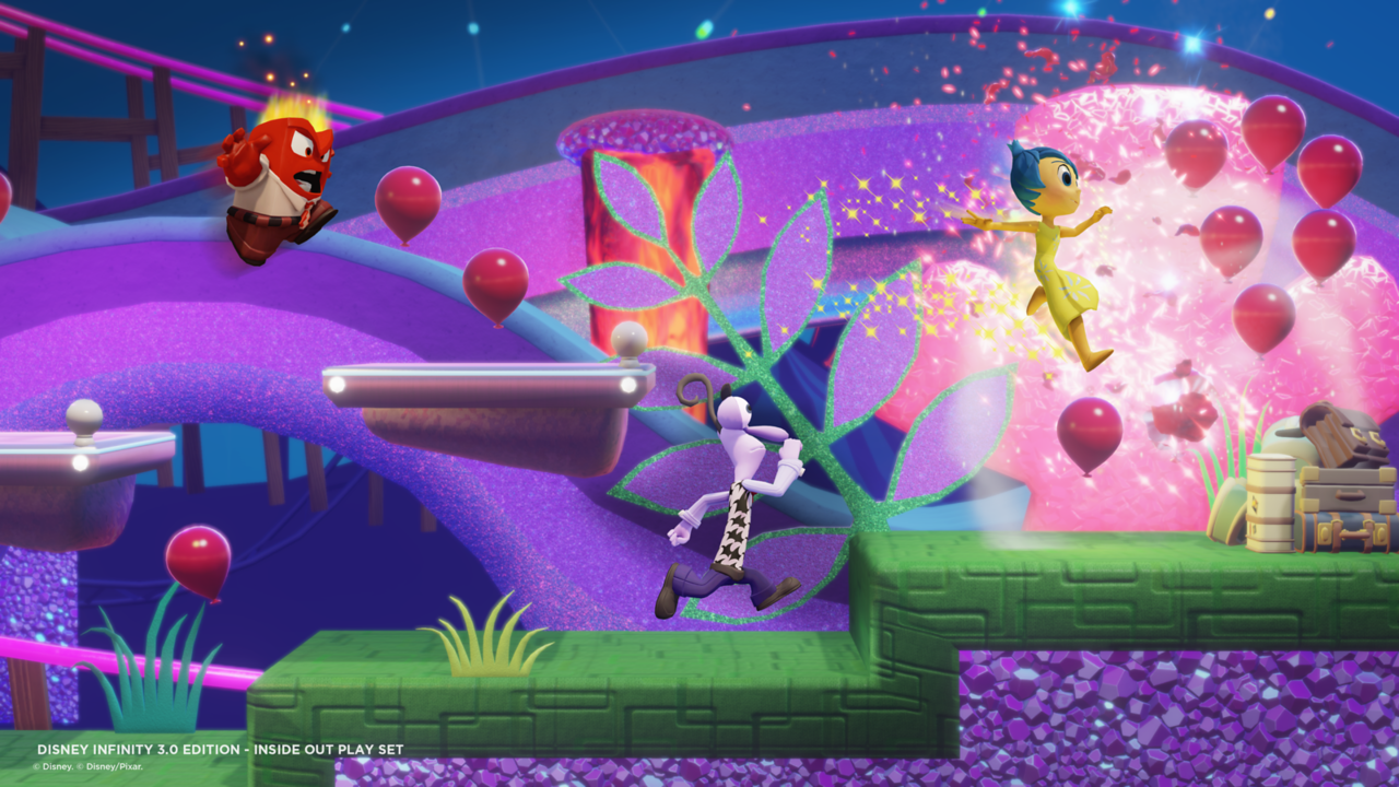 Pixar S Inside Out Coming To Disney Infinity 3 0 Blurppy