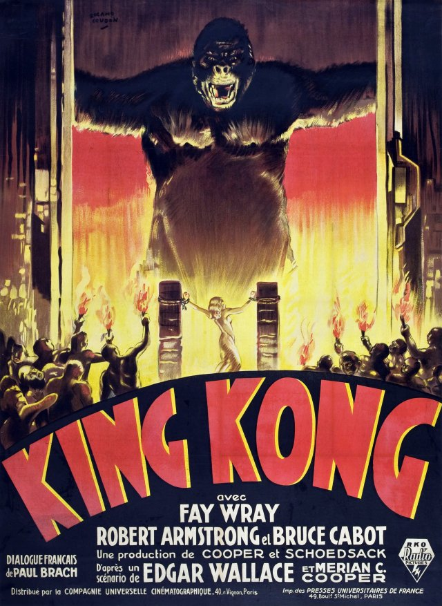 King_Kong_1933_French_poster
