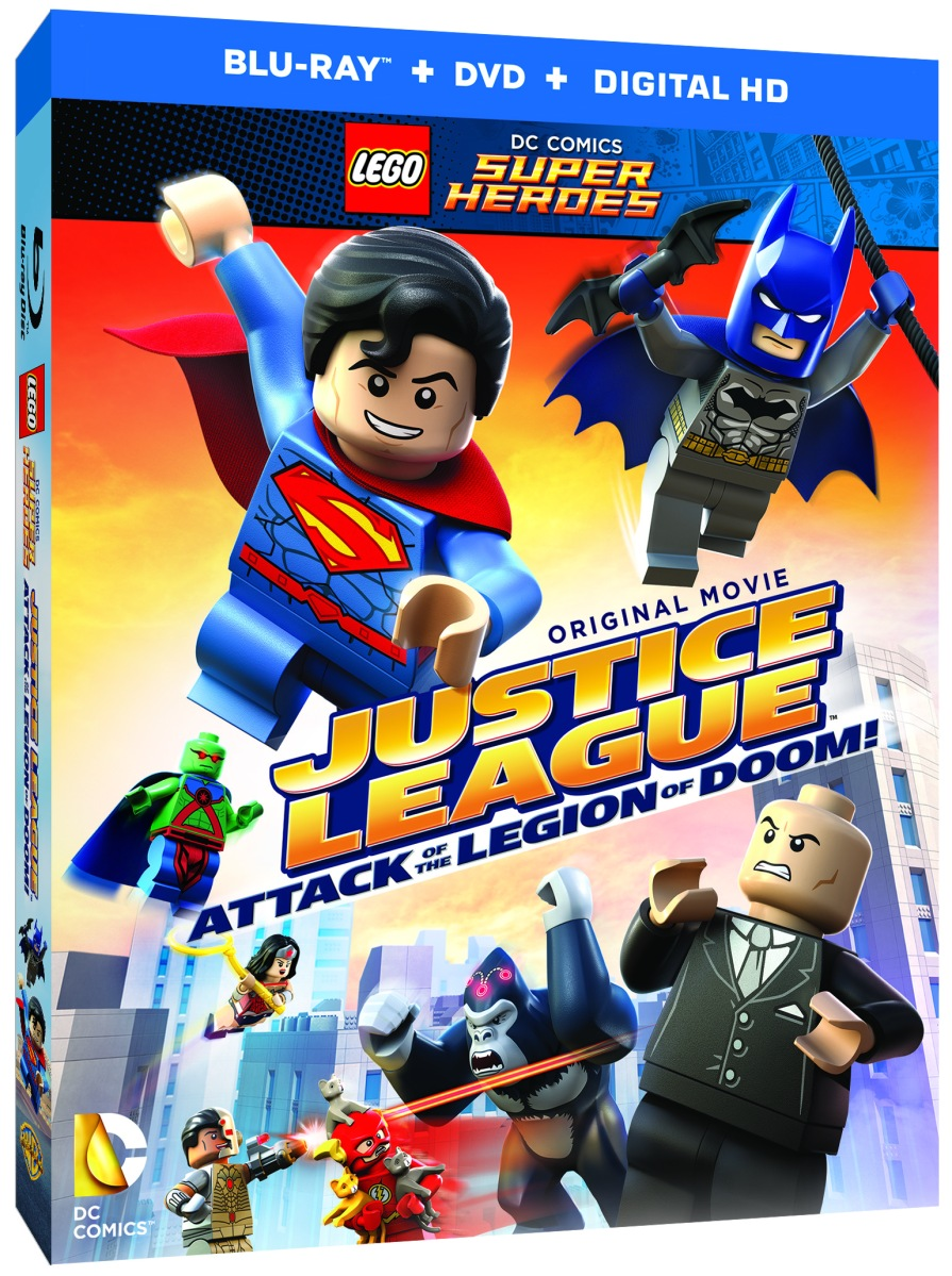 """LEGO DC Comics Super Heroes - Justice League: Attack of the Legion of Doom"" Coming This August!"