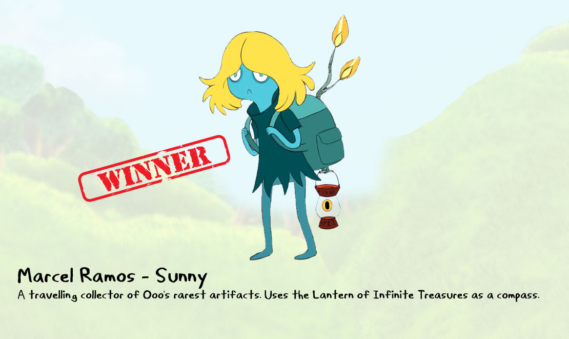 "Adventure Time Character Design Contest : ""sunny is the new character for little orbit s ""adventure"