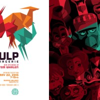 "Mondo's Tom Whalen Solo Show: ""Pulp Menagerie"" Looks Absolutely Sensational!"