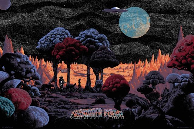 FOIL SIMU STD-Forbidden planet regular