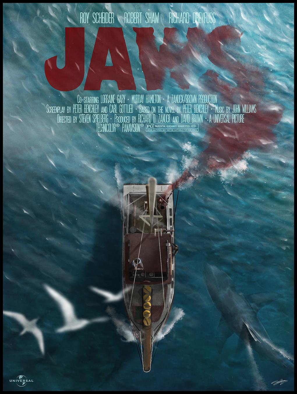 "Happy Birthday Bruce! Spielberg's ""JAWS"" Celebrates Its ..."