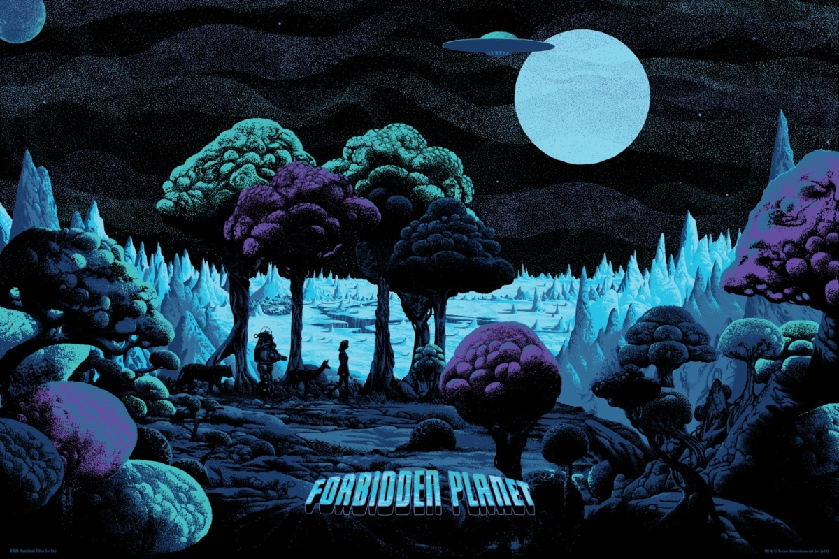 "Dark Hall Mansion & Kilian Eng Take Us To The ""Forbidden Planet"""