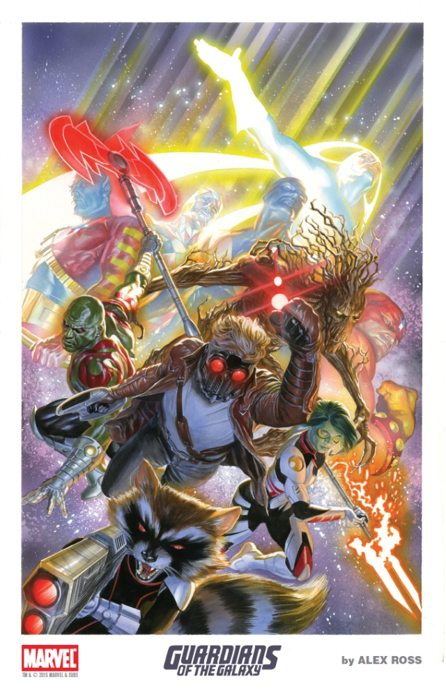 AlexRoss-SDCC 2015 Litho1 Guardians