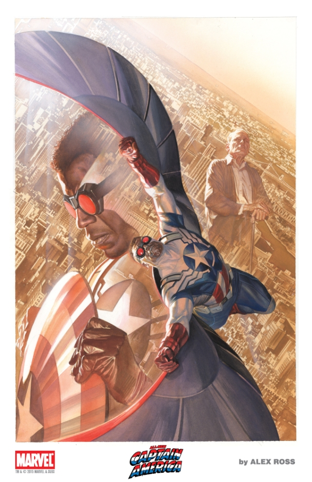 AlexRoss-SDCC 2015 Litho10 Falcon