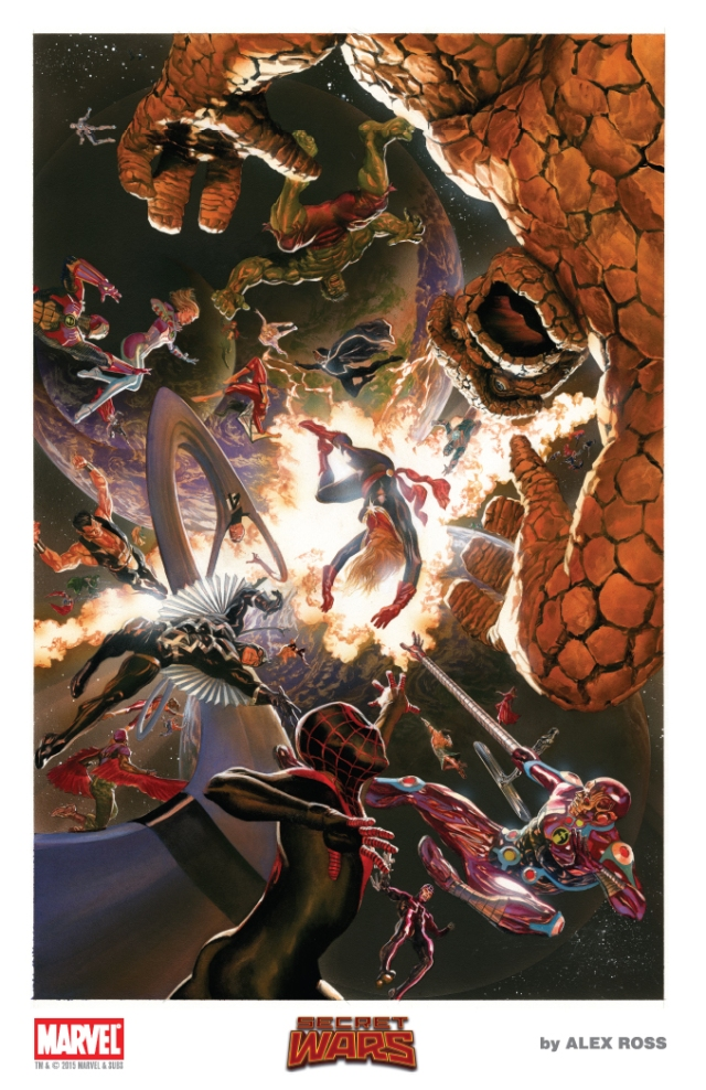 AlexRoss-SDCC 2015 Litho3 SECRET WARS