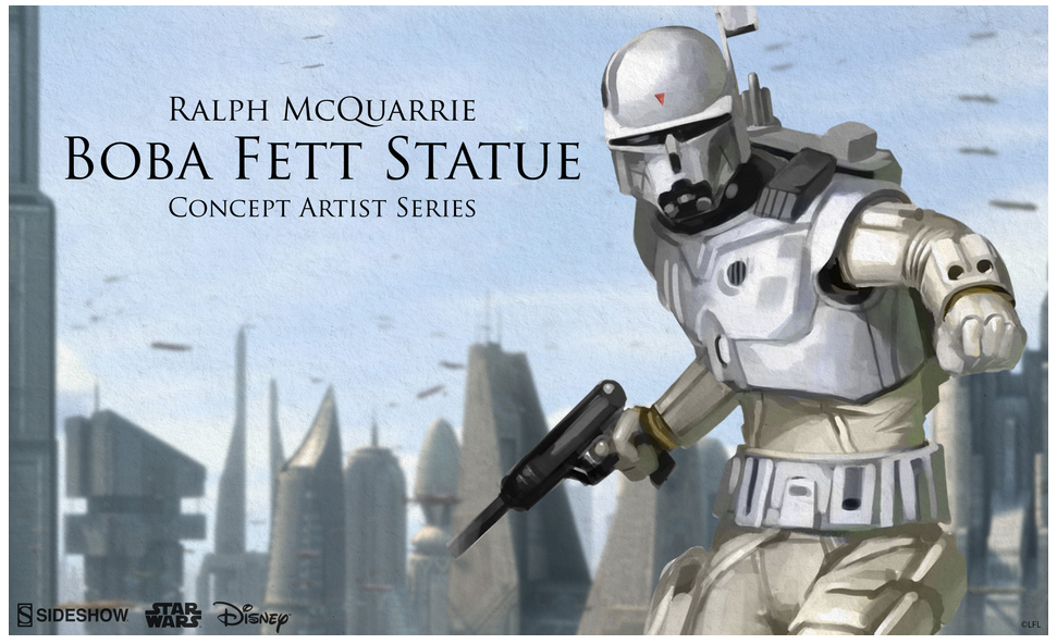 Sideshow Collectibles Ralph Mcquarrie Just Take My Money Blurppy