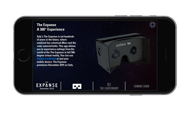 The Expanse_Google Cardboard VR 1