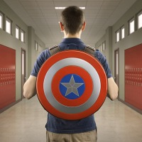 Go Back To School With This AWESOME Captain America Backpack & Be The Envy Of All Your Friends