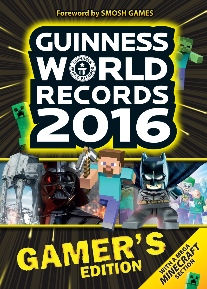 "Gamers Get Their Due In ""Guinness World Records 2016 Gamer's Edition"""