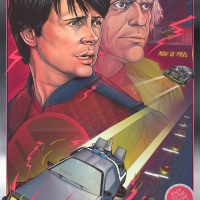 "The Poster Posse Celebrates The 30th Anniversary Of ""Back To The Future"""