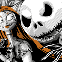 """Simon Delart Turns In A Stunning Tribute Print To The Burton Classic: """"The Nightmare Before Christmas"""""""