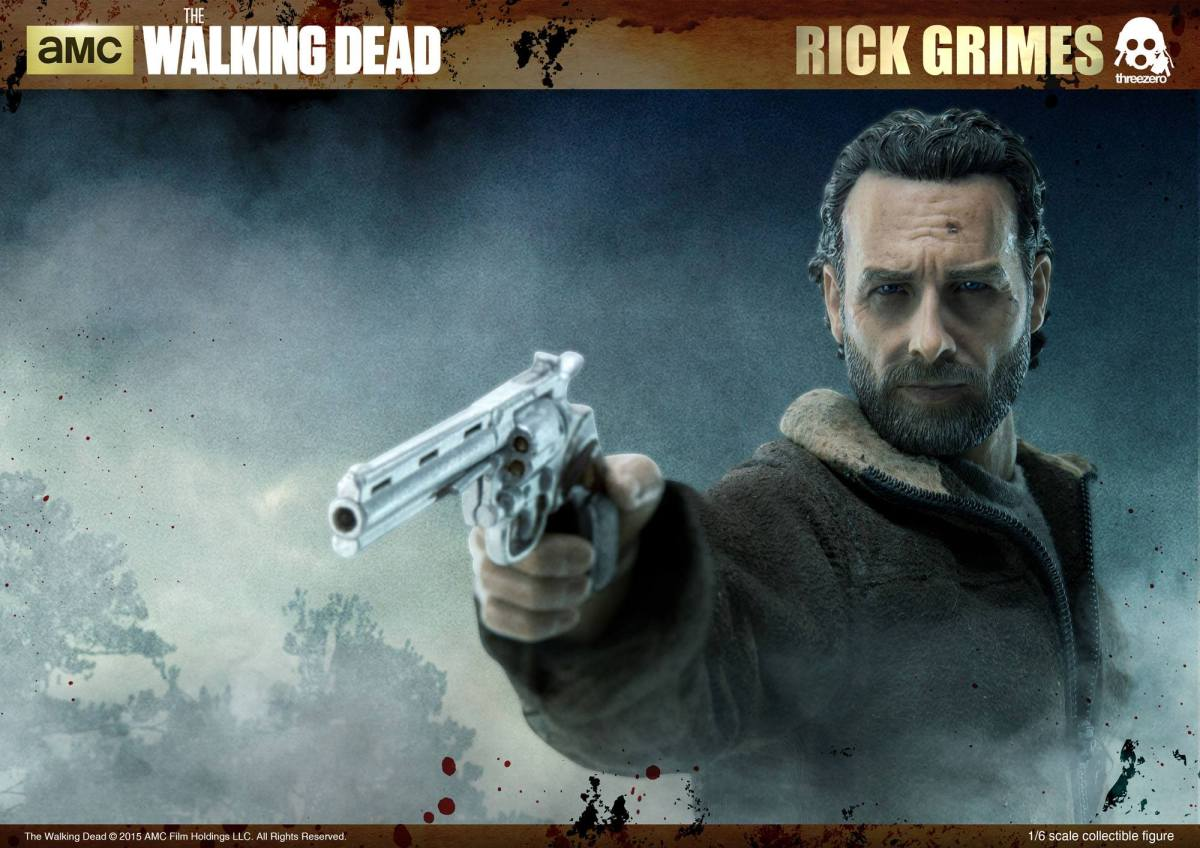 "ThreeZero Reveals ""The Walking Dead: Rick Grimes"" Sixth Scale Figure"
