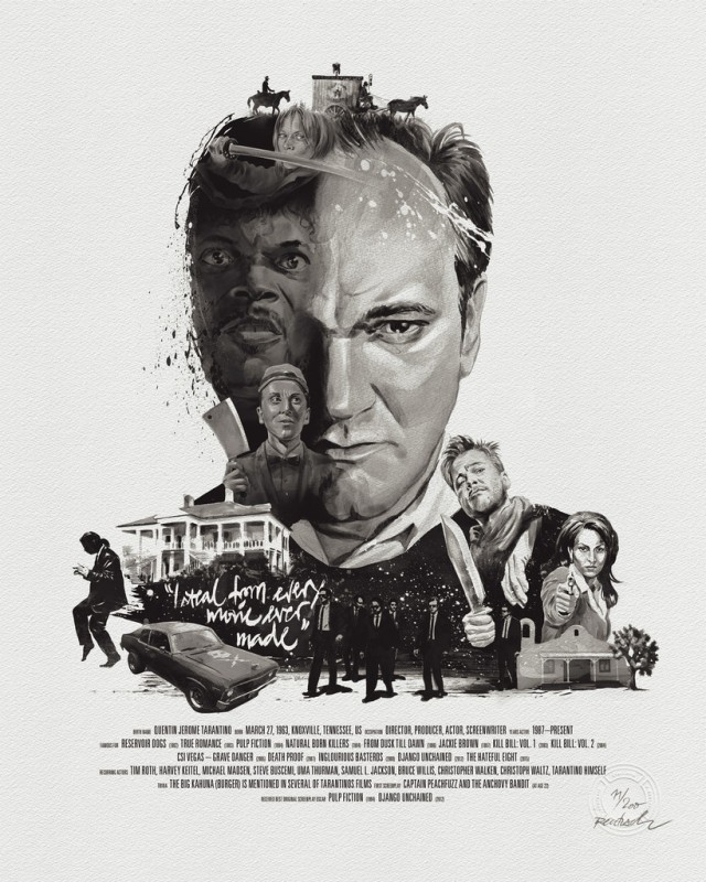 QT-stellavie-rentzsch-movie-director-portrait-prints-quentin-tarantino-flat_1024x1024