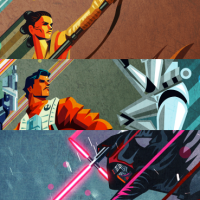 Poster Posse Member Kaz Oomori Unveils 3 Incredible New Prints For Star Wars The Force Awakens