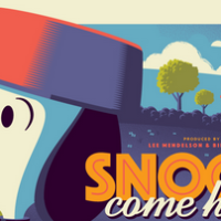 "Dark Hall Mansion & Tom Whalen Reveal Their Next Officially Licensed Peanuts Print: ""Snoopy Come Home"""