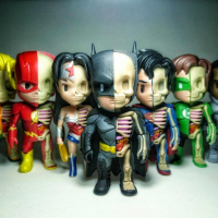 Mighty Jaxx XXRAY Set Dissects The DC Universe In A Highly Desirable Way