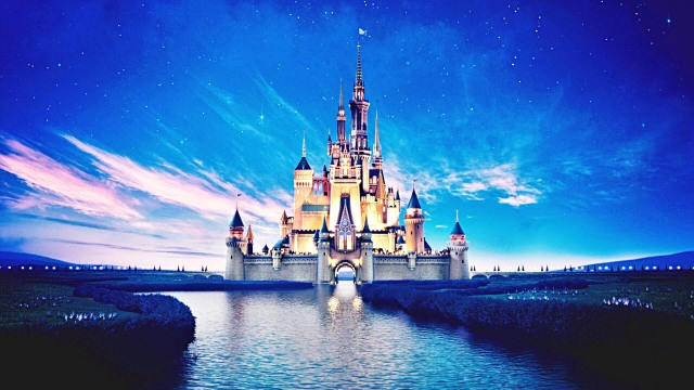 The-Disney-Castle