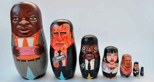 Andy-Stattmiller-Pulp-Fiction-Nesting-dolls