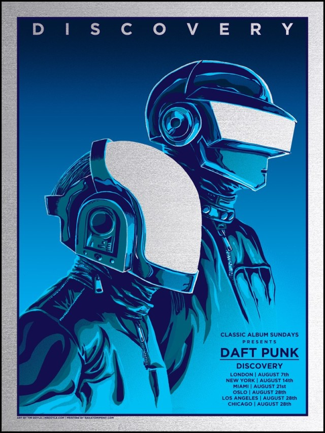 DAFT-PUNK-Silver-FOIL-tim-doyle-flood-gallery