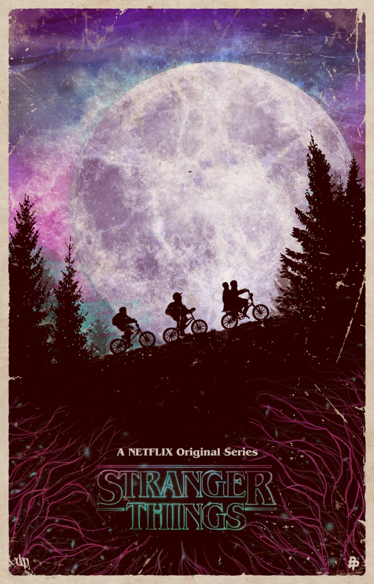 "Daniel Nash's ""Stranger Things"" Poster Is Perfect Wallcandy"