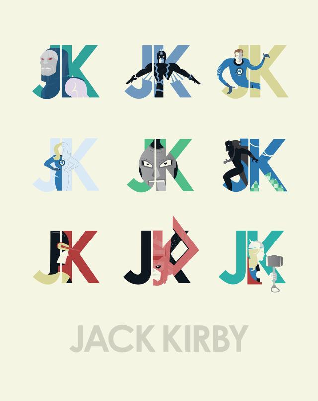 kevin-tiernan-jack-kirby-fan-art-collection