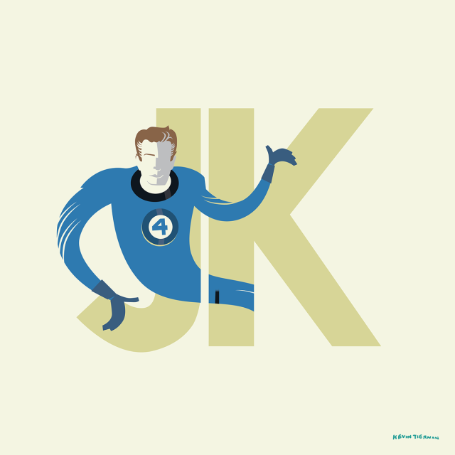 kevin-tiernan-jack-kirby-fan-art-mr-fantastic