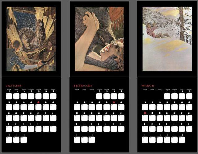bernie-wrightson-cycle-of-the-werewolf-calendar-nakatomi