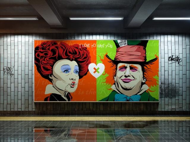 butcher-billy-trump-hillary-subway