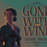"Dark Hall Mansion & Laurent Durieux Embrace The 1939 Classic ""Gone With The Wind"""