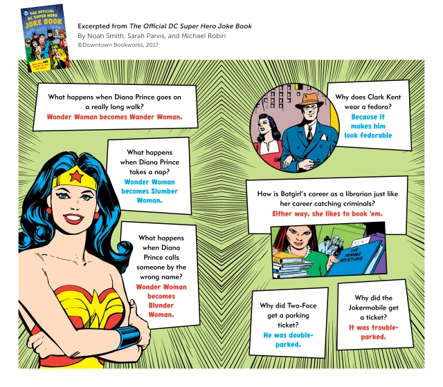 The Official DC Super Hero Joke Book Sample 2