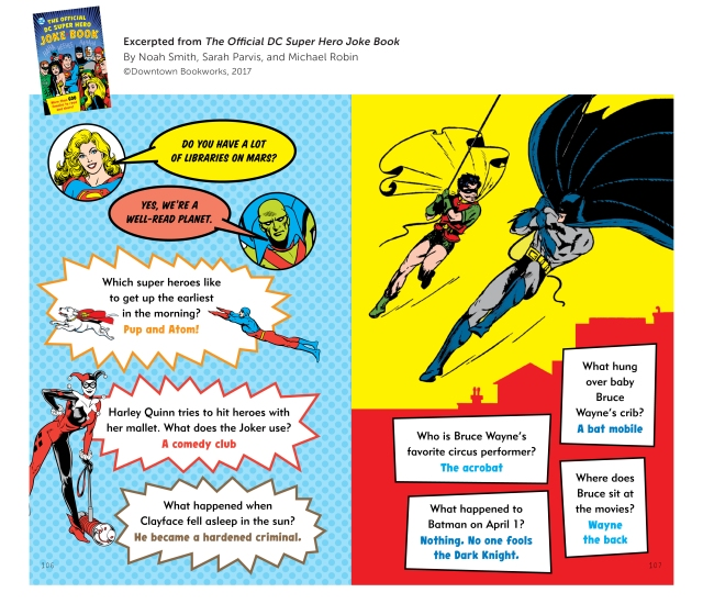 The Official DC Super Hero Joke Book Sample 3