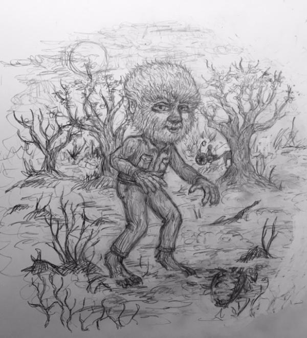 1-Spusta-wolf-man-sketch