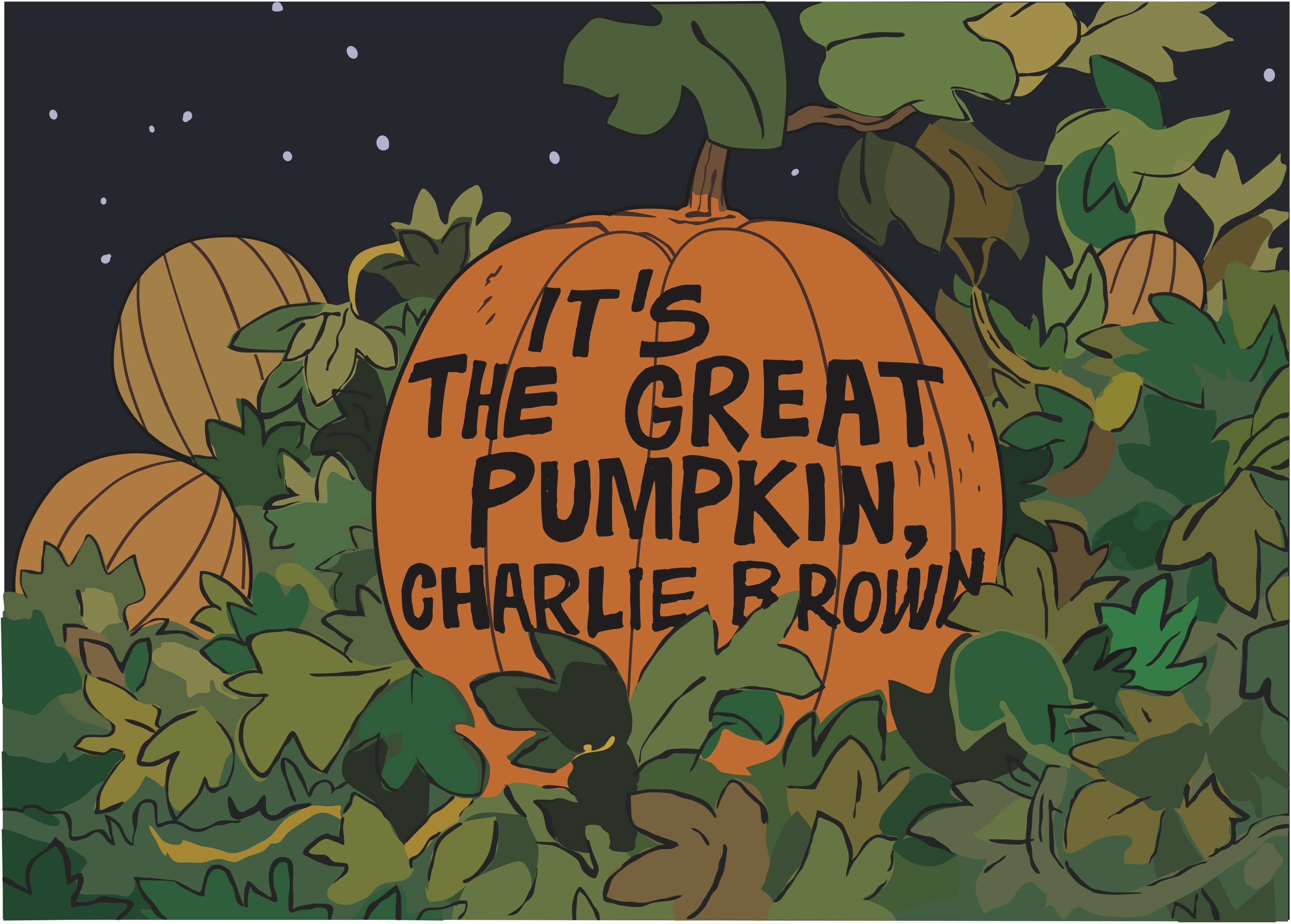 "It's The Great Pumpkin Charlie Brown Quotes Classy Dark Hall Mansion Starts October With 2 Fantastic ""It's The Great"