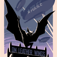 "We Want ALL Of George Caltsoudas' ""Batman: The Animated Series"" Prints"