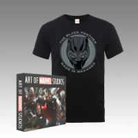 "Zavvi Offers ""The Art of Marvel Studios"" Plus A Tee At A Marvelous Low Price"