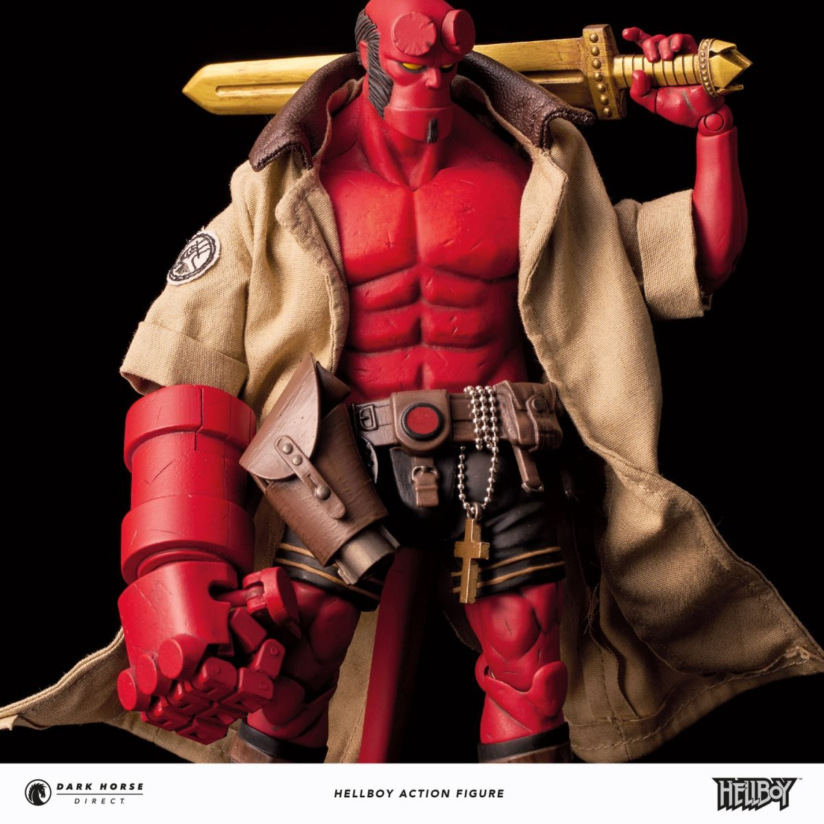 "Dark Horse Direct's New ""Hellboy Action Figure"" Is Dastardly Delightful"