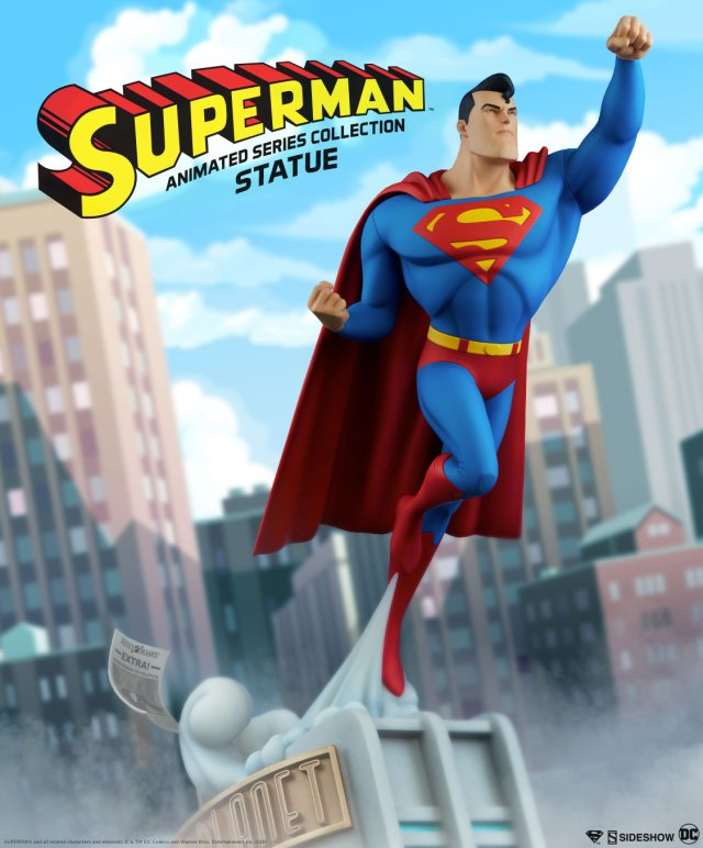 Superman-Statue-Sideshow-Animated-Collection